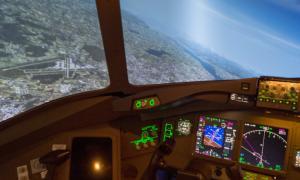 Boeing B777 Flugsimulator