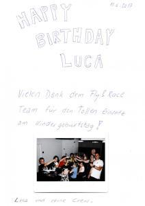 11.06 - Kindergeburtstag Luca